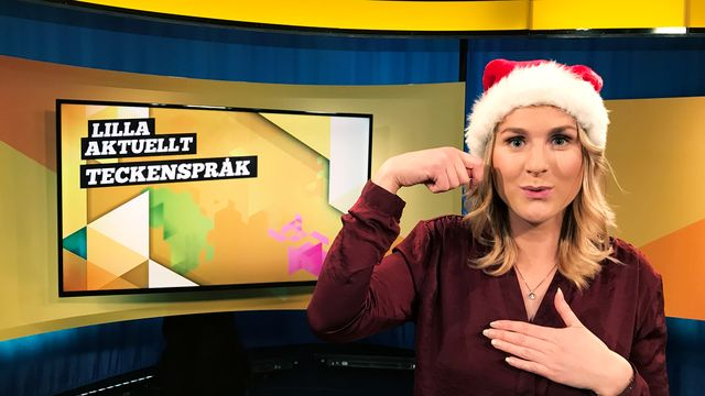 Lilla Aktuellt teckenspråk : 2017-12-15