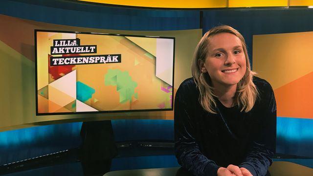 Lilla Aktuellt teckenspråk : 2017-10-06