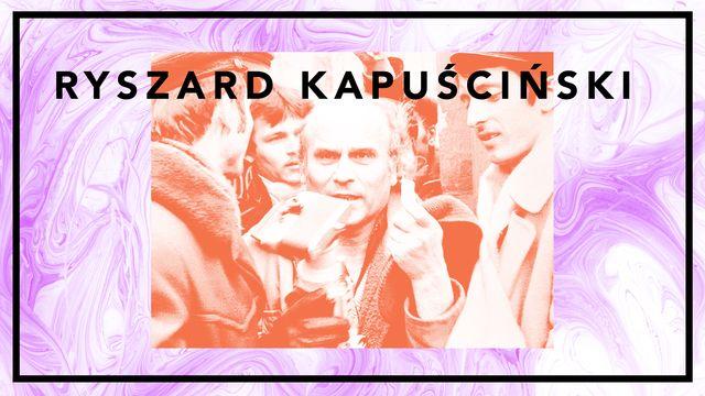 Bildningsbyrån - tänka mot strömmen : Kapuscinski - journalisten och sanningen