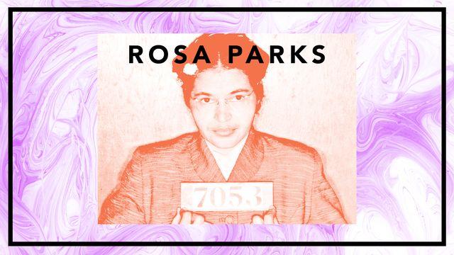 Bildningsbyrån - tänka mot strömmen : Rosa Parks  -  ett rebelliskt liv