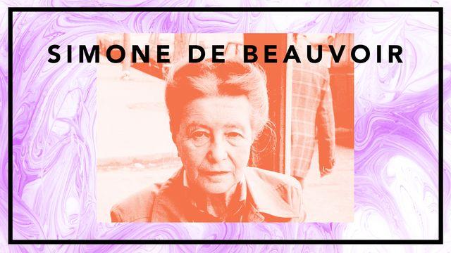 Bildningsbyrån - tänka mot strömmen : Simone de Beauvoir - feministikonen