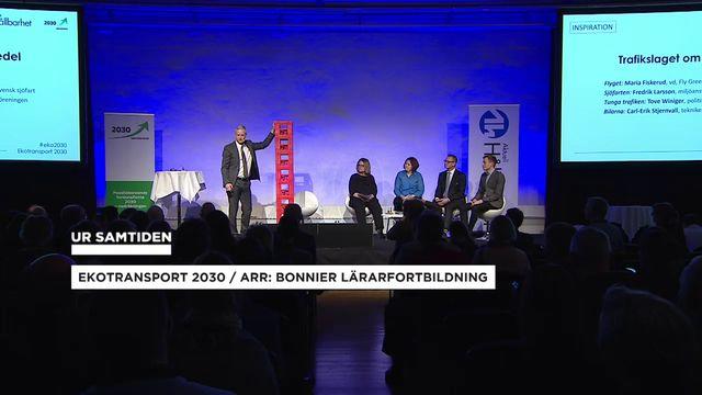 UR Samtiden - Ekotransport 2030 : Trafikslaget om biodrivmedel