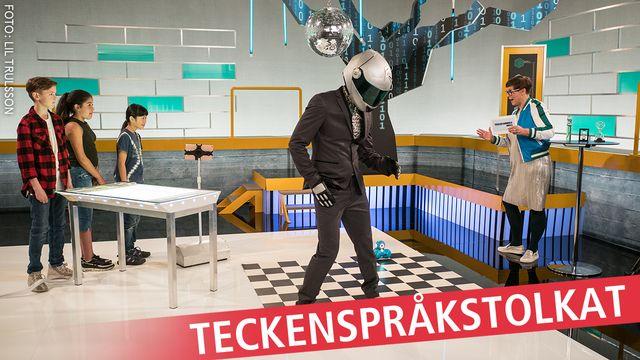 Programmera mera 2.0 - teckenspråkstolkat : Robotar