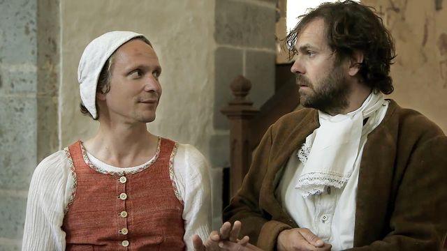 En rolig historia - syntolkat : Kärlekens historia