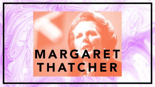 Bildningsbyrån - tänka mot strömmen : Margaret Thatcher - järnladyn