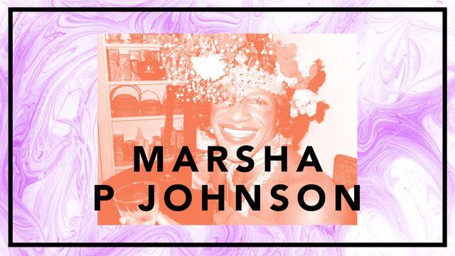 Bildningsbyrån - tänka mot strömmen : Marsha P Johnson - transikon på barrikaderna