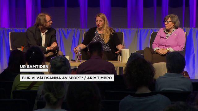 UR Samtiden - Bokmässan 2017 : Blir vi våldsamma av sport?