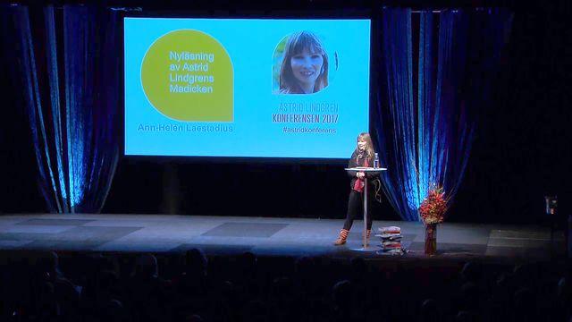 UR Samtiden - Astrid Lindgren-konferensen 2017 : Ann-Helén Laestadius: Om mig och Madicken