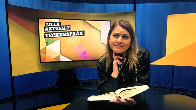 Lilla Aktuellt teckenspråk : 2018-01-26
