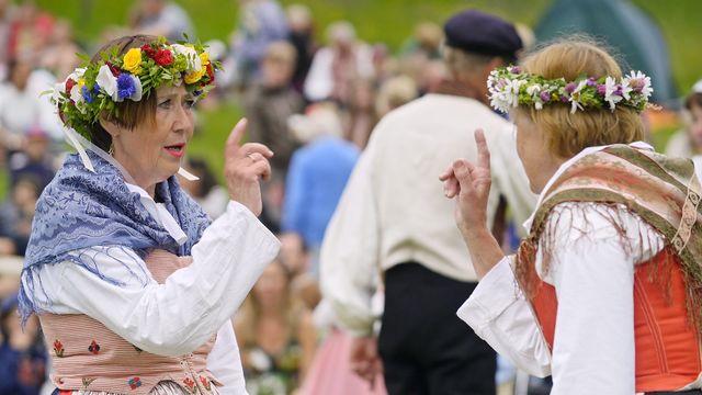 Det goda landet : Folkdansaren Lena