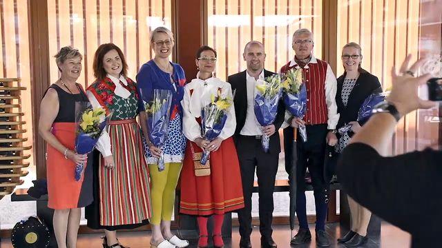 Det goda landet - syntolkat : Kommuntjänstemännen i Falun