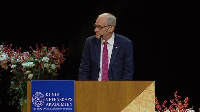 UR Samtiden - Nobelföreläsningar 2017 : Rainer Weiss, fysik
