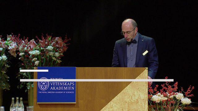 UR Samtiden - Nobelföreläsningar 2017 : Jacques Dubochet, kemi