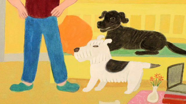 Godnattsagor - nordsamiska : Hunden som blev arg
