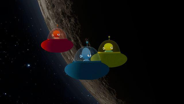 Vims i rymden - teckenspråkstolkat : Pluto och en måne till
