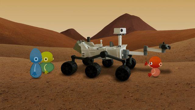 Vims i rymden - teckenspråkstolkat : Mars