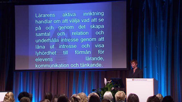 UR Samtiden - Skolforum 2017 : Textsamtal och bildpromenader
