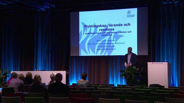 UR Samtiden - Skolforum 2017 : Flyktingskap, lärande och resiliens