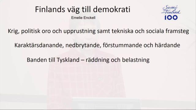 UR Samtiden - Finland 100 år : Finland 1918 - hur uppstod banden till Tyskland?