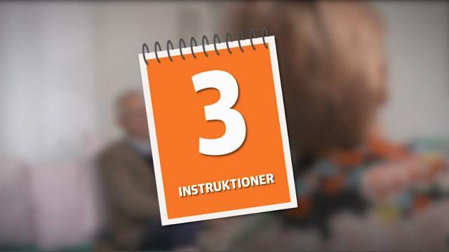 Programmera mera - uppdrag : Instruktioner
