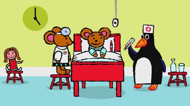 Pinos dagbok - turkiska : Pino på sjukhus