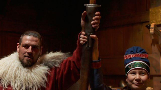 Samernas tid - syntolkat : Allianser i Sápmi