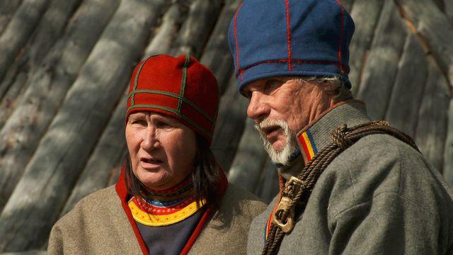 Samernas tid - syntolkat : Gränser genom Sápmi