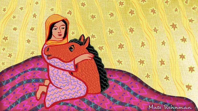 Arabiska sagor - arabiska : Hästhuvudet