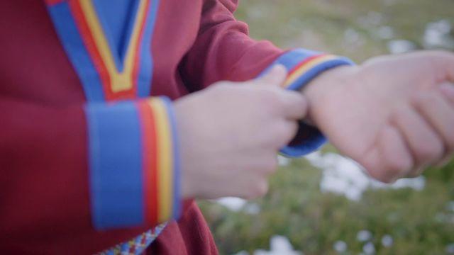 Samisk historia med Ailo - teckenspråkstolkat