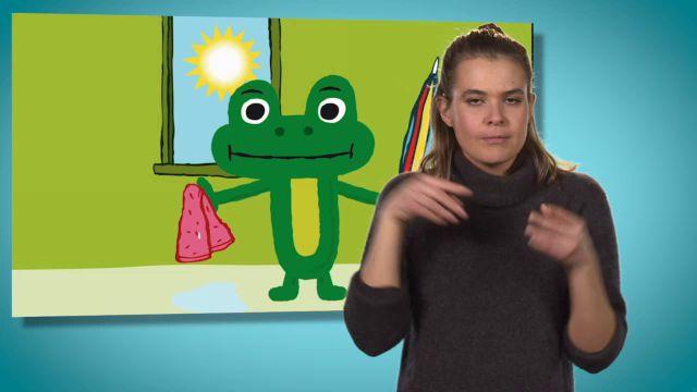 Fel väder - teckenspråkstolkat : Saftutflykt