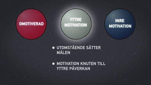 Orka plugga : Inre och yttre motivation