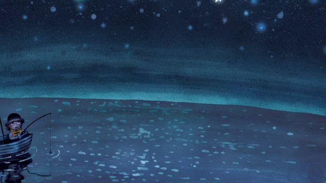 Godnattsagor - arabiska : Vit haj