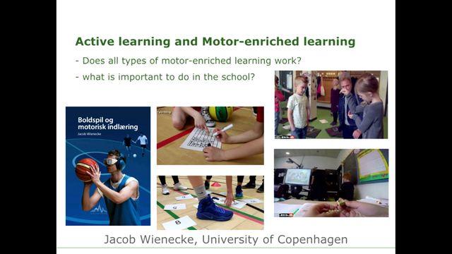 UR Samtiden - Puls och rörelse för inlärning : Hur kan motorik främja inlärning?