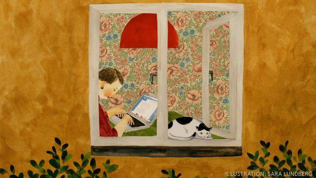Godnattsagor - arabiska : Katten