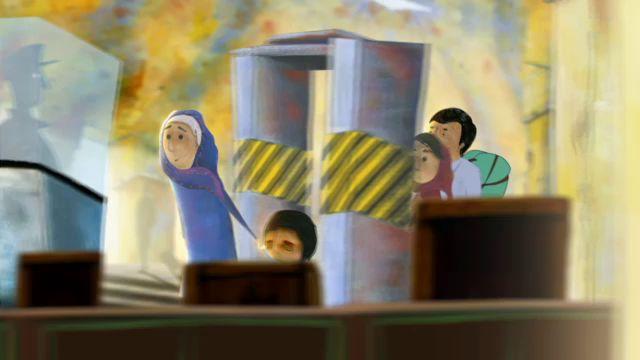 Unga flyktingar : Alis berättelse - en resa från Afghanistan