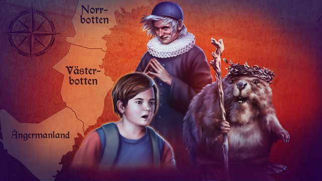 Hamnskiftarens resa : Ångermanland, Västerbotten, Norrbotten