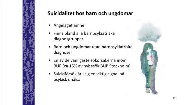 UR Samtiden - Elevhälsa 2018 : Suicidalitet hos barn och unga