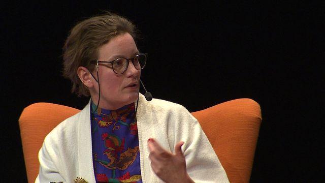 UR Samtiden - Språkforum 2018 : Finna sig och Förlåten: författarsamtal med Agnes Lidbeck
