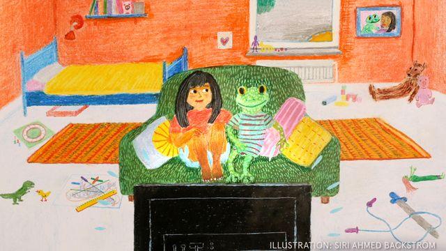 Godnattsagor - nordsamiska : Torsten och jag