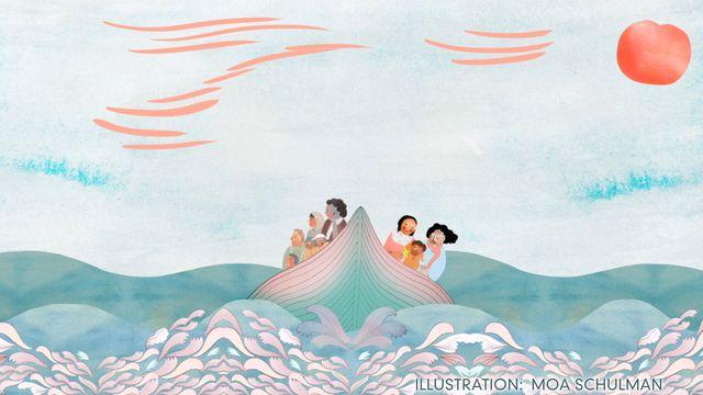 Godnattsagor - nordsamiska : Ledsenlek