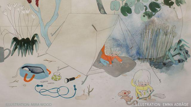 Godnattsagor - nordsamiska : Utflyktarna