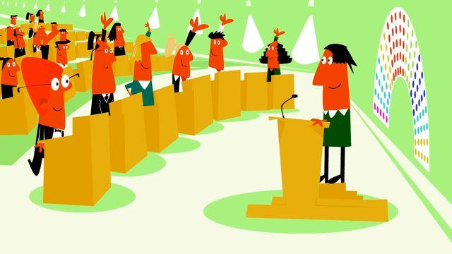 Nyfiken på Sverige : Den svenska demokratin