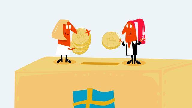 Nyfiken på Sverige : Skatten