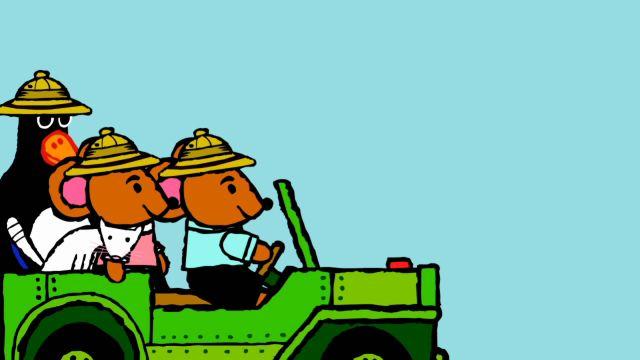 Pinos dagbok - engelska : Pino på safari