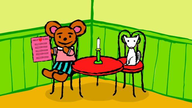 Pinos dagbok - engelska : Pinos restaurang
