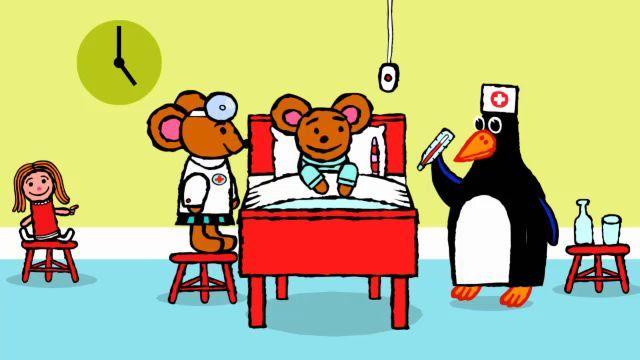 Pinos dagbok - engelska : Pino på sjukhus