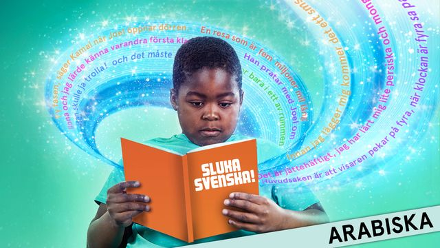 Sluka svenska! - arabiska : Sluka svenska! - arabiska