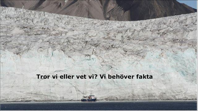 UR Samtiden - Klimatfestivalen 2018 : Klimatförändringar i Arktis