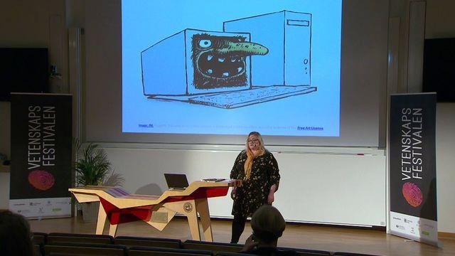 UR Samtiden - Vetenskapsfestivalen 2018 : Samtal i trollskogen