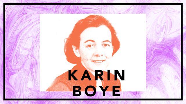 Bildningsbyrån - tänka mot strömmen : Karin Boye - Kallocain och övervakningssamhället